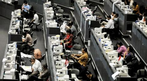 IHSG Ditutup Menguat 34 Poin