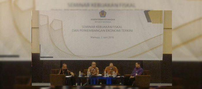 Kemenkeu Gelar Seminar Kebijakan Fiskal di Sulbar