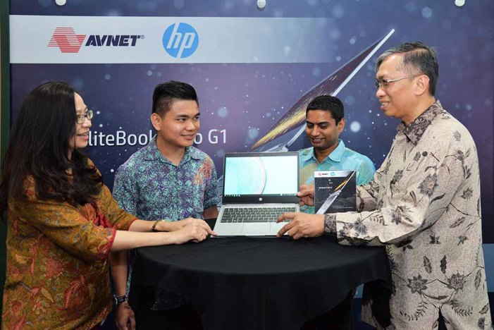 Avnet sebagai distributor eksklusif Elitebook Folio G1