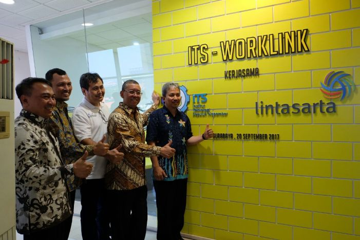 Lintasarta Gandeng ITS Bangun Co-Working Space Startup