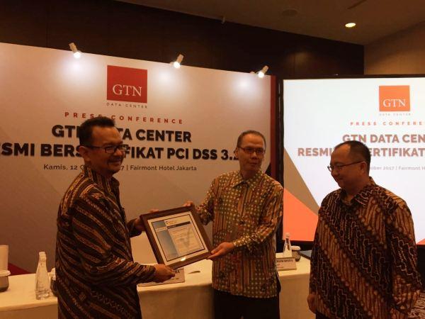Raih Sertifikat PCI DSS 3.2, GTN Data Center Dukung Fintech