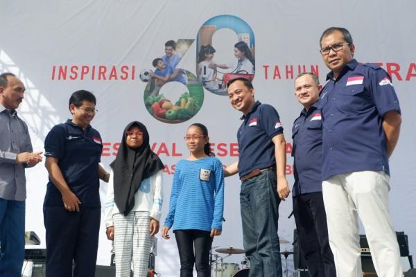Warga Makassar Meriahkan Festival Kesehatan Astra