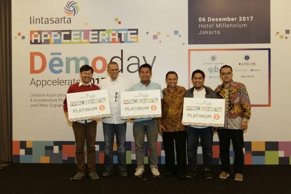 Ini Delapan Startup Pemenang Lintasarta Appcelerate 2017