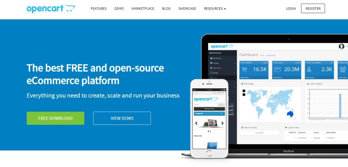 Top 10 Free Open Source Shopping Carts 2