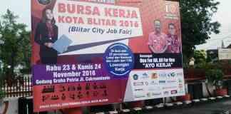 Job Fair Kota Blitar 2016