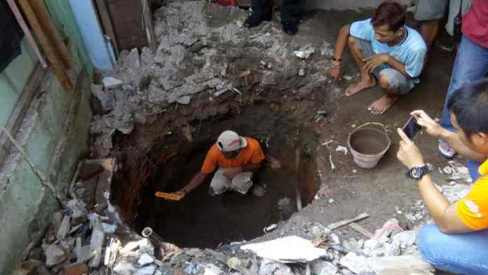 Ditemukan Amunisi Lama yang Tertimbun Bangunan