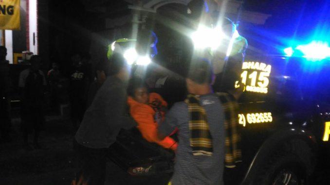 Evakuasi Korban Kecelakaan