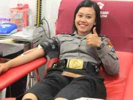 Polwan Donor Darah