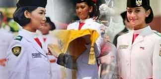 fariza putri salsabila pembawa bendera pusaka