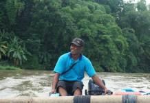 Bapak Sonhadi, ketua Pokmaswas Fajar Bengawan. Dokumentasi istimewa Infoblitar.com