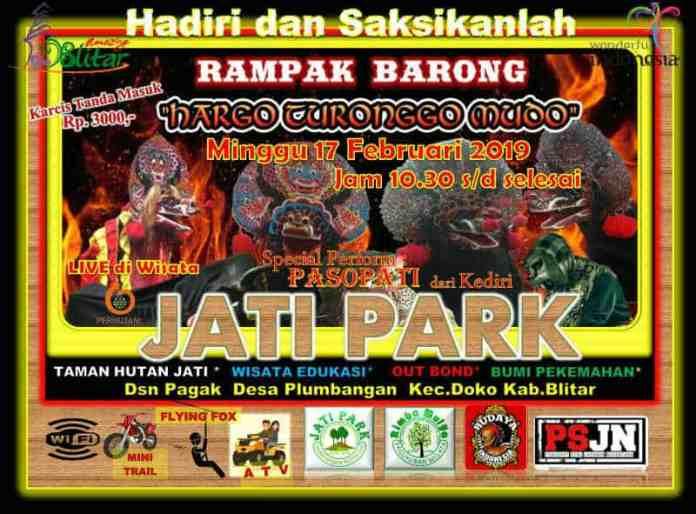 Rampak Barong di Jati Park