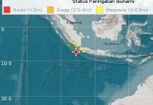 Gempa di Banten pada 2 Agustus 2019