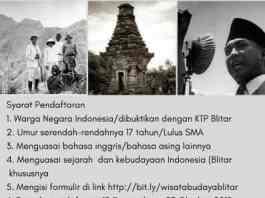 Pelatihan pemandu wisata budaya/sejarah di Blitar