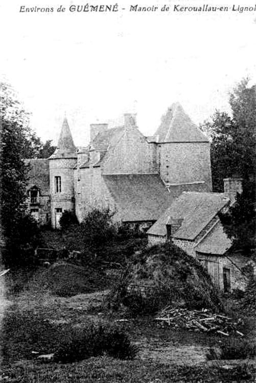 Olivier De Kersauson Chateau Bretagne : olivier, kersauson, chateau, bretagne, Lignol, Histoire,, Patrimoine,, Noblesse, (commune, Canton, Guémené-sur-Scorff)