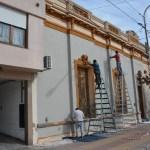 """Benito Juárez: Avanzan los trabajos de restauración en el edificio del Programa """"ENVIÓN"""""""