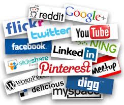 social media logos (facebook, Pinterest, YouTube, Twitter)