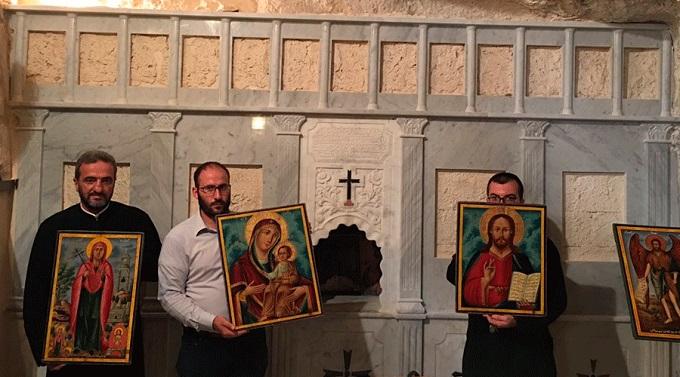 Íconos para la iglesia greco-ortodoxa de San Elías