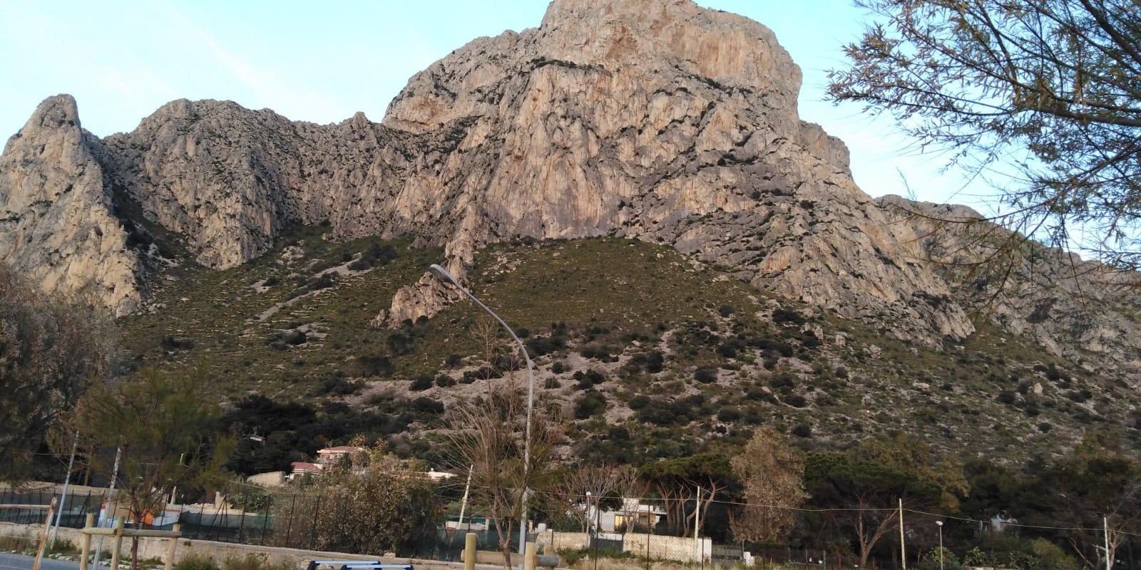 Messa in sicurezza del costone roccioso sul versante Schillaci/Barcarello - Monte Gallo.