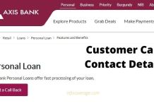 Axis Bank Loan Customer Care, Support Helpline, Contact Email & Phone Number