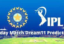IPL Today Match Prediction, Dream11 Best Pick, Favorite Players, Winning Team