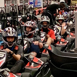 Indoor Kart racing
