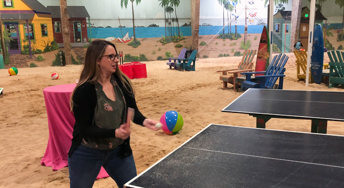 Ping pong party