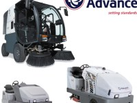 Who is the biggest floor-cleaning equipment maker in town?