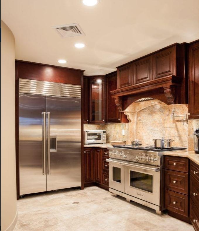 Mahogany J5 Kitchen Bathroom Cabinets In New Jersey