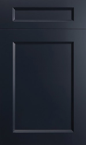 Greenfield Midnight Blue Transitional Kitchen Cabinet
