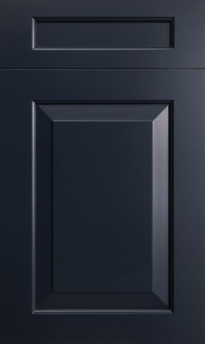 New Haven Midnight Blue Raised Panel Kitchen Cabinets