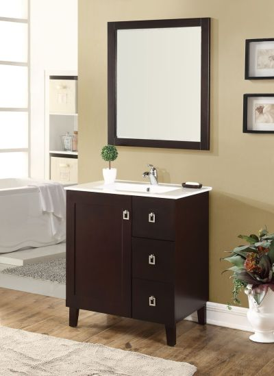 Elan 30′ Dark Walnut with Matching Mirror