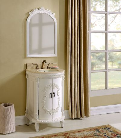 Wellington 21′ Antique White with Matching Mirror
