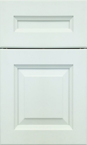 Aspen White Raised Panel Kitchen Cabinet