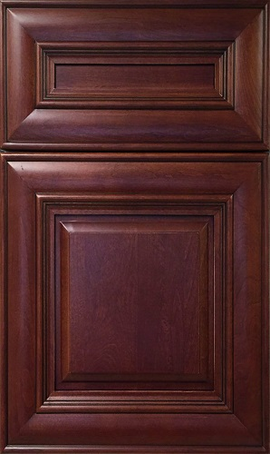 Camden Cherry Raised Panel Kitchen Cabinet
