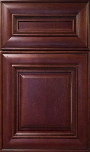 Camden Cherry Raised Panel Kitchen Cabinet