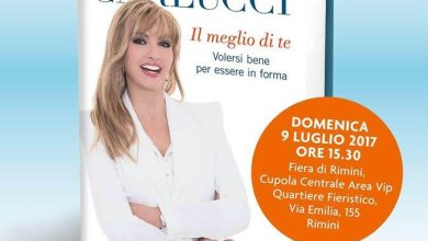 Photo of Milly Carlucci all'apertura dei Campionati Italiani Fids