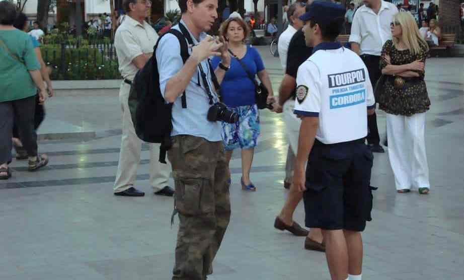 Policía turística Córdoba
