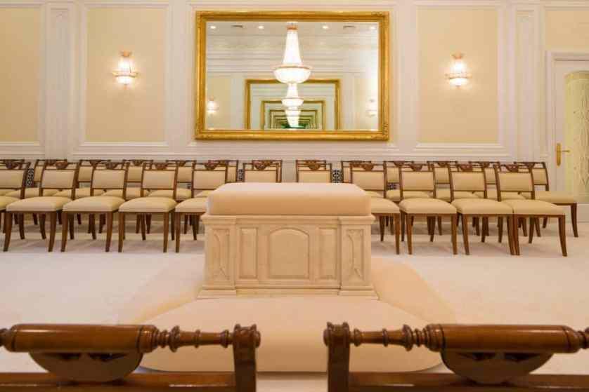 Sala Sellamiento de La Iglesia de Jesucristo de los Santos de los Últimos Días