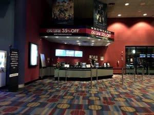 Showcase Cinema Estacionamiento