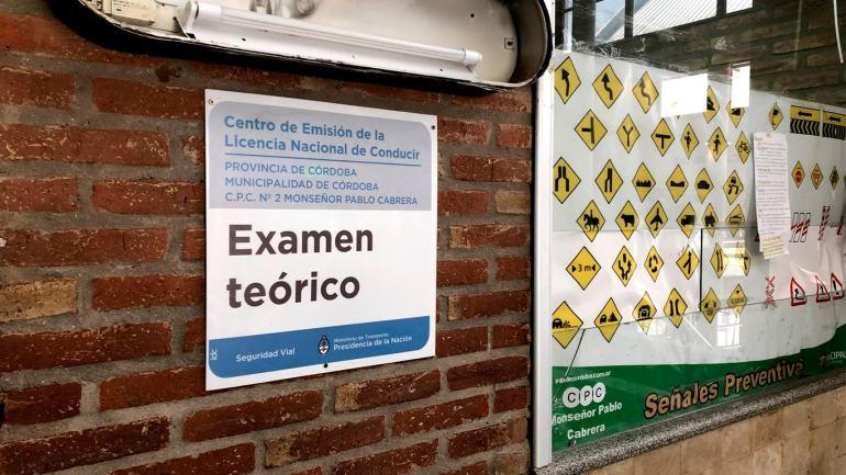Examen online del manual del buen conductor de la municipalidad de córdoba