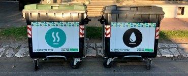 Contenedores, reciclado en Córdoba