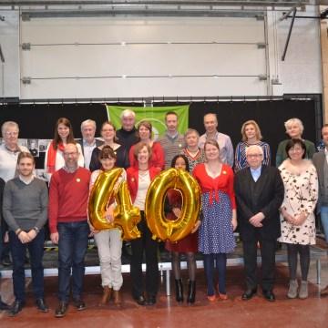Feest voor 40 jaar Wereldwinkel