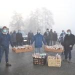 Rozijnenbroodje voor senioren van de Trompewijk