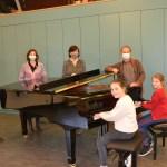 Nieuwe piano's voor de academie