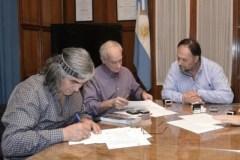 Acuerdo entre Parques Nacionales y la comunidad mapuche