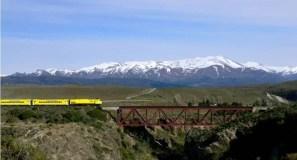 Viajando en el Tren Patagónico