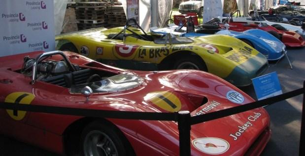 Sport Prototipo y Monopostos autos históricos de competicion