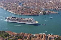 Adiós a los grandes cruceros en Venecia