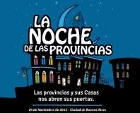 Se realizara la Tercera Noche de las Provincias en Buenos Aires