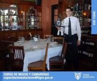 Curso de mozos y camareras gratuito en Tigre